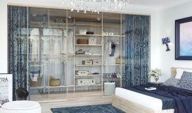 Дизайн маленькой гардеробной комнаты - идеи и советы