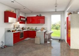 Кухня столовая: дизайн интерьер в частном доме
