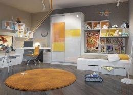 Дизайн маленькой детской комнаты. На что обратить внимание при выборе мебели?