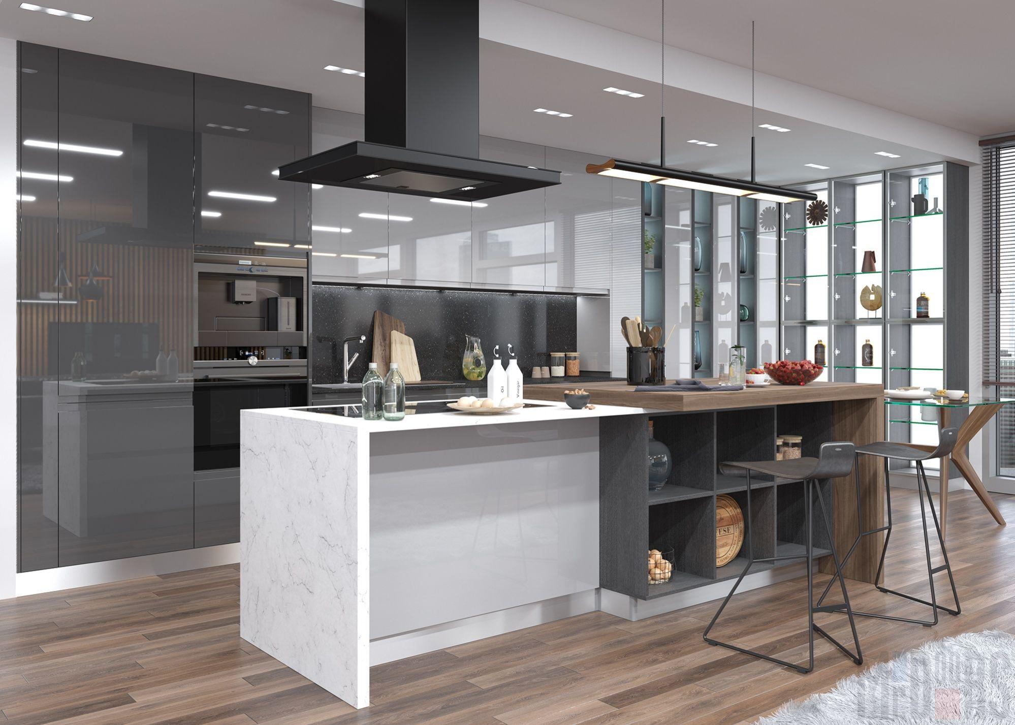 кухни с островом фото дизайн модерн машины были анонсированы