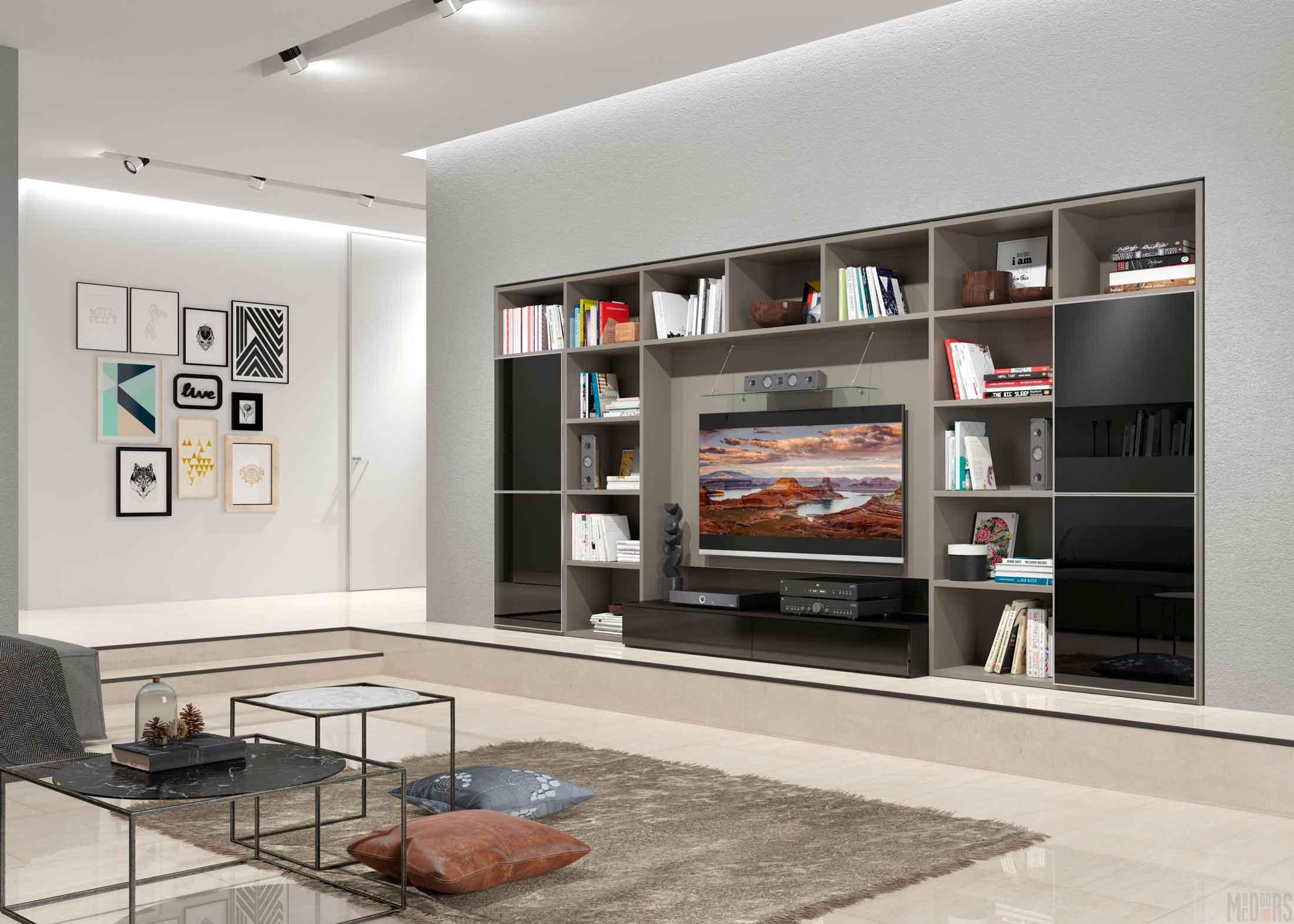 Дизайн гостиной в квартире-студии